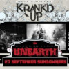 Krank'd Up announces Unearth as Headlining Act