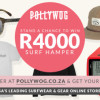 Register to Pollywog.co.za Online Surf Store and WIN