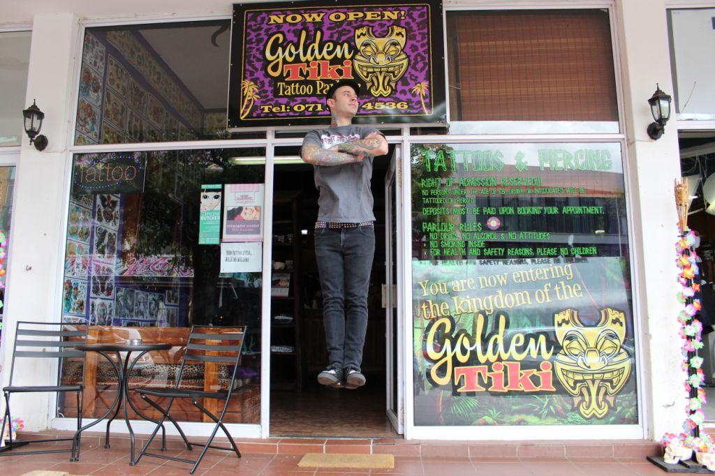 Tattoos The Golden Tiki