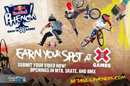 Red Bull BMX Skateboarding Mountaingbiking X-Games
