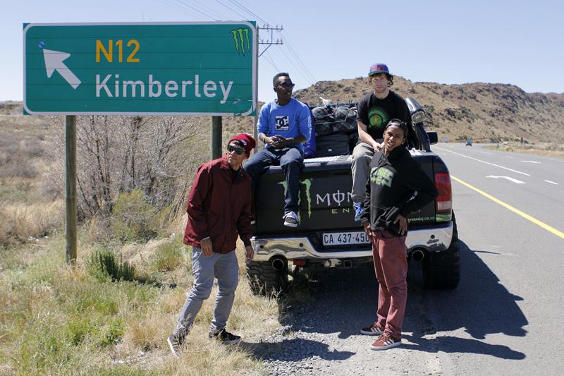 The skateboarding crew roadtripping to Kimberley