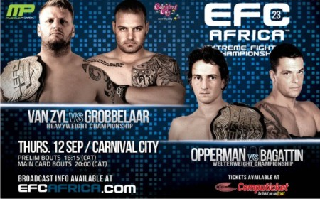 MMA EFC Africa 23 Mixed Martial Arts