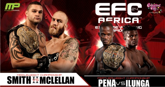 EFC Africa 24 is upon us with a stacked Mixed Martial Arts fight card