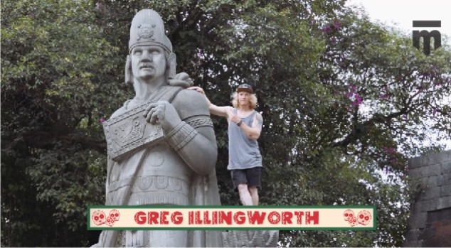 Greg Illingworth on his BMX road trip to Mexico