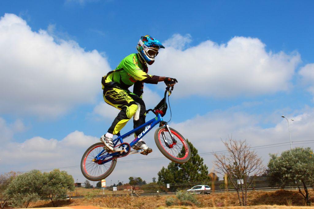 BMX Racing Godfrey Buziba