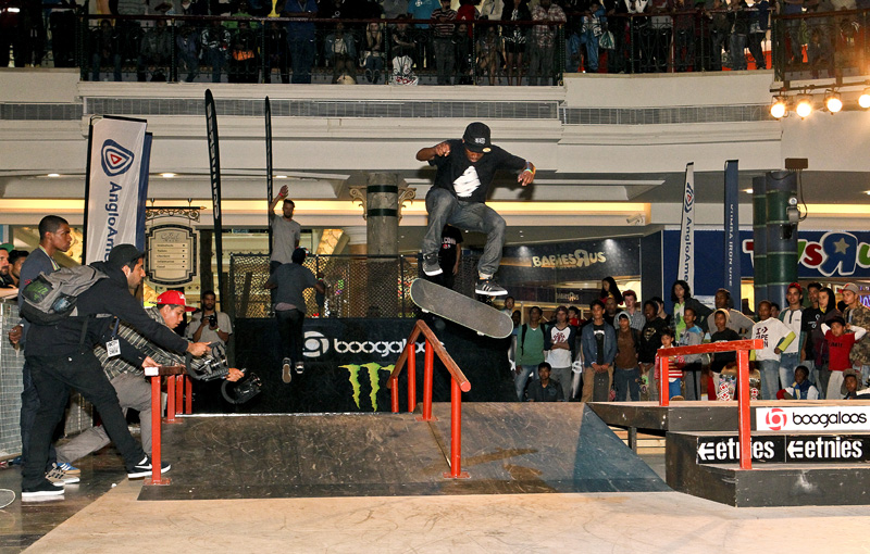 Skateboarding Kimberly Diamond Cup
