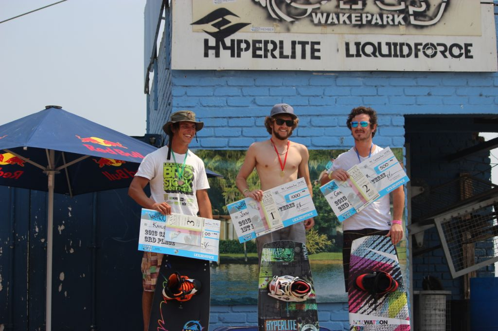 Pro Men Wakeboarding Podium