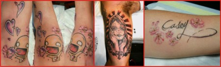A collection of tattoos by Ting