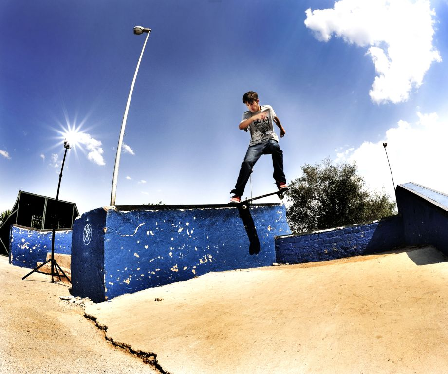 Jeandre Bester up and coming in the Skateboarding World