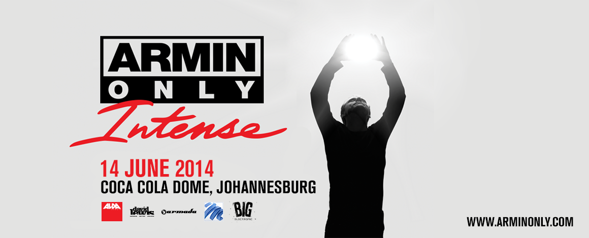 Armin van Buuren set to wow SA fans with his Armin Only Intense world tour
