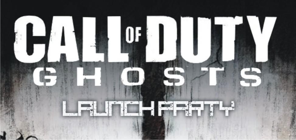 Call of Duty: Ghosts official laung party
