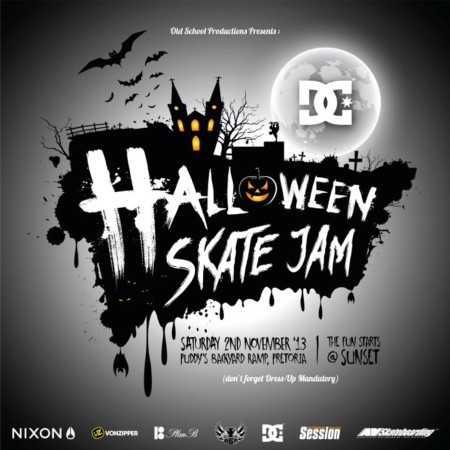 The DC Halloween Skateboarding Jam