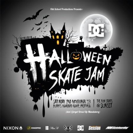 The DC Halloween Skateboarding Jam
