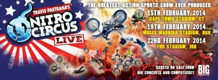 Travis Pastrana's Nitro Circus Live is coming to SA