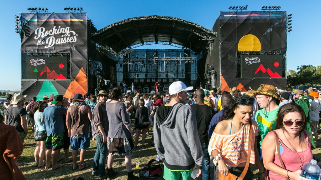 Rocking the Daisies South African music festival