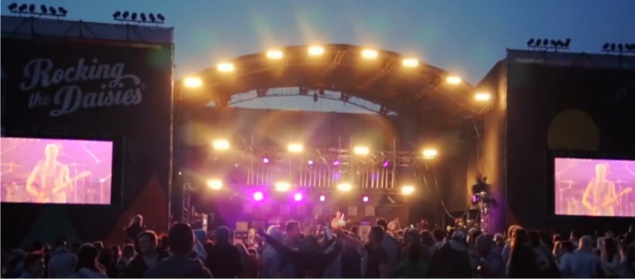 Rocking the Daisies 2013 South African music festival video