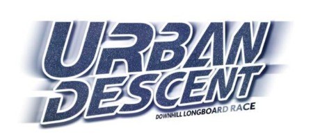 Urban Descent downhill skateboarding race logo