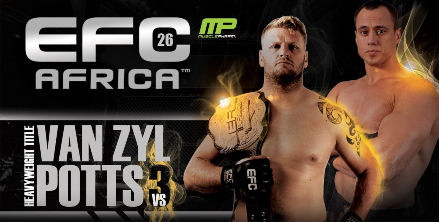 Mixed Martial Arts returnes to the Coca Cola Dome with EFC Africa 26