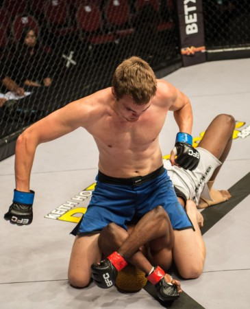 Shaun De Lange's Mixed Martial Arts skill paid off at EFC 25