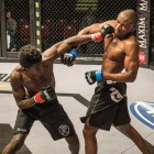 Regis Muyambo vs Donald Nzirawa in the MMA Cage