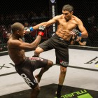 Igeu Kabesa beats Chad Hepburn in this Mixed Martial Arts battle