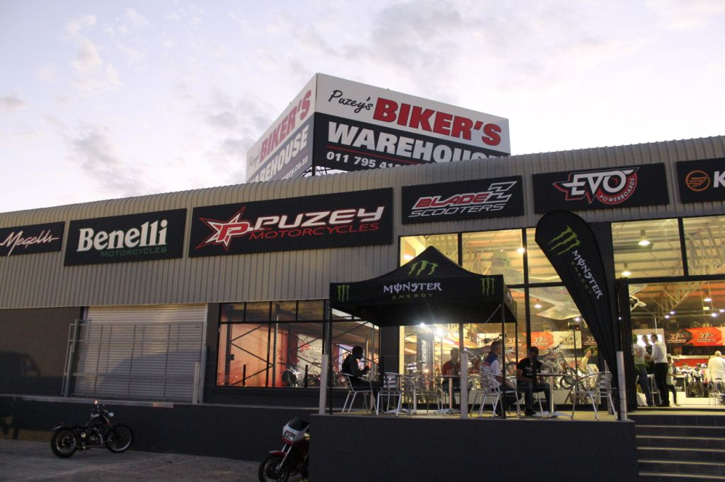 The new Bikers Warehouse is now open