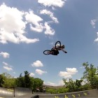 Malcom Peters styling in his latest BMX video edit