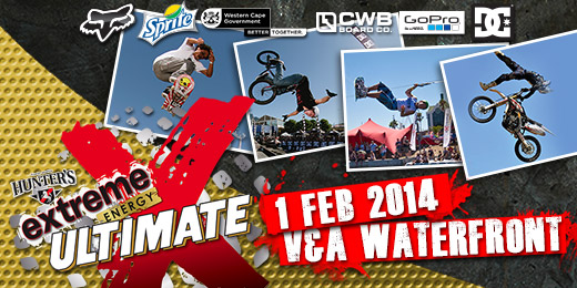 Ultimate X 2014 will feature BMX FMX Skate Wake and MTB