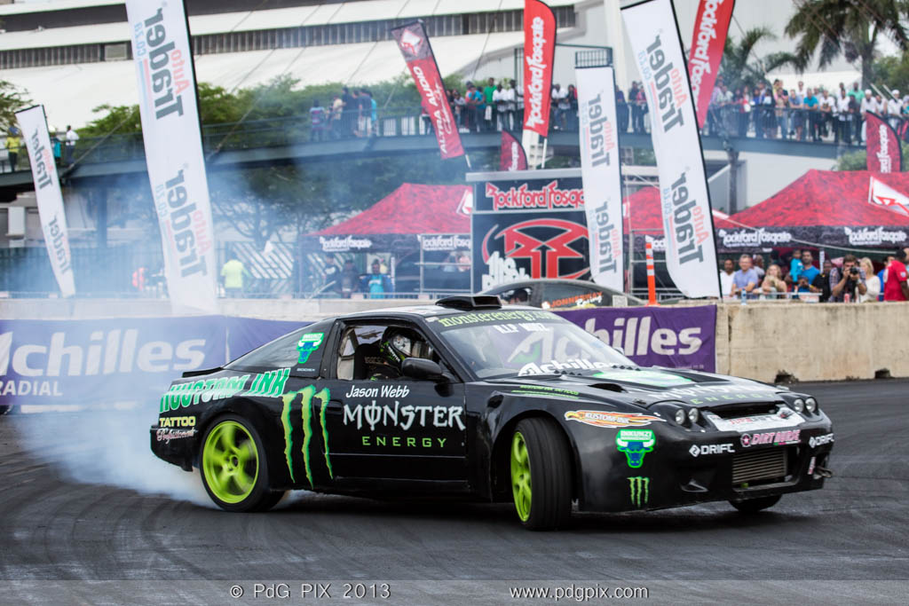 Jason Webb won the 2013 national drifting series