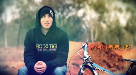 Ryan Frerichs  talking about his Downhill MTB career
