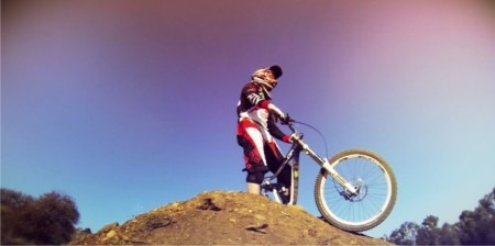Downhill Mountain Biking star  Ryan Frerichs
