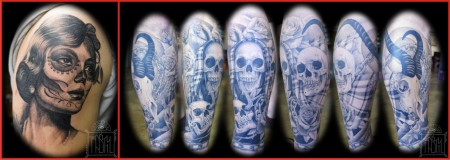 Some Tattoos by Rasty Knayles