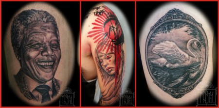 Rasty Knayles work from 1933 Classic Tattoos
