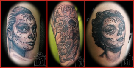 Tattoo work by Rasty