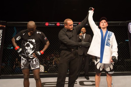 Cedric Doyle vs Baldwin Mdlalose at EFC Africa 26