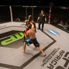 MMA fight between Mbulelo Swekile and Nelson Feiteira