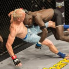 Mixed Martial Arts fight between Themba Gorimbo and Chimmy van Winkel