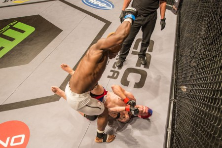 MMA action at EFC Africa 26