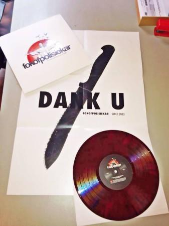 Fokofpolisiekar limited edition vinyl entitled As jy met Vuur speel sal jy Brand