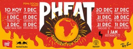 PHFAT set to rock South African music fans on their Sunburnt Fun Tour