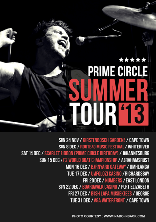 Prime Circle are ready to embark on their Summer Tour
