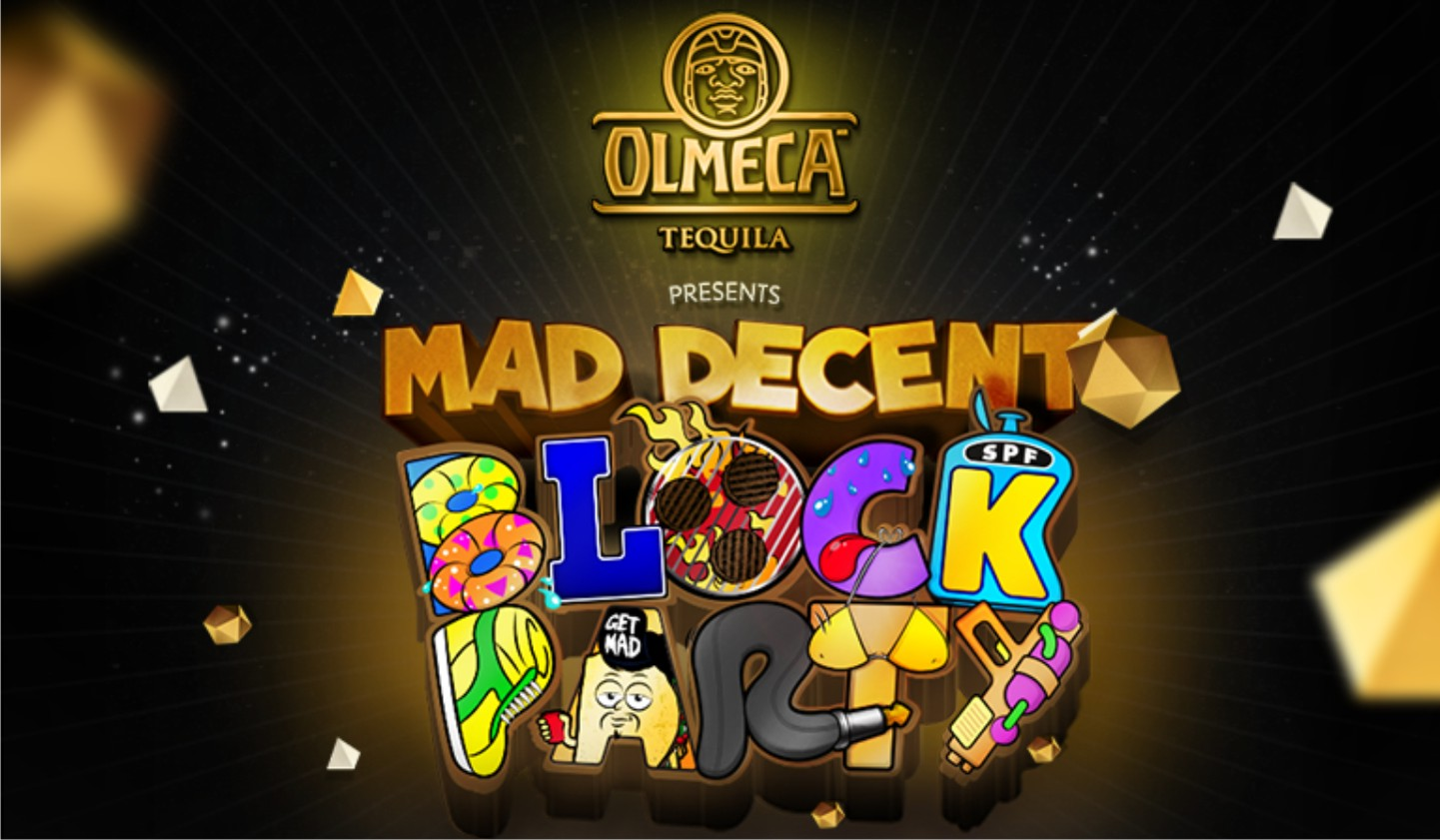 Olmeca Tequila presents Mad Decent Block Party