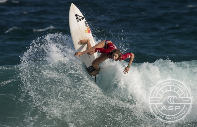 Bianca Buitendag surfing her way to 3rd place overall