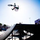 Malcom Peters blew minds at Ultimate X in the BMX contest