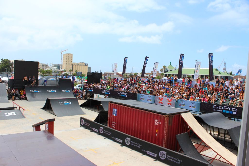 The BMX park at Ultimate X 2014 was international quality