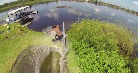 Through the eyes of his GoPro, Wakeskating pro Dieter put together this epic video