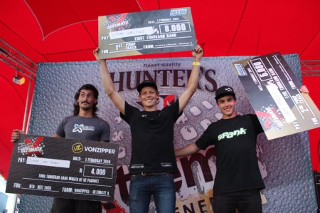 MTB podium from Ultimate X