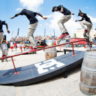 The Skateboarding contest at Ultimate X was complete mayhem