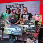 Wakeboarding podium from Ultimate X