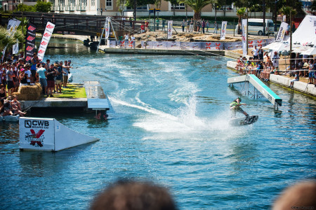 The Wakeboarding area at Ultimate X was perfect